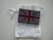 La vendita vendita vendita nuovo con scatola Swarovski Union Jack In pelle portafoglio carte GRATIS P&P RRP £ 120