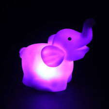 Popular Creative LED Light Fashion Night Light Lamp Colorful Elephant Design