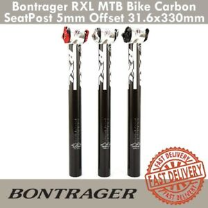 Bontrager RXL MTB Bike Carbon Seat Post 5mm Offset 31.6x330mm Seatpost