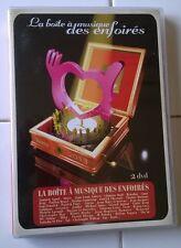 LA BOITE A MUSIQUE DES ENFOIRES  - Coffret 2 DVD comme neuf - Concert 18 Titres