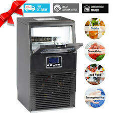 Smad Commercial Freestanding Ice Maker Bar Ice Cube Machine Undercounter Cooler