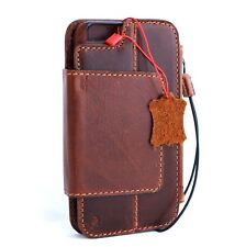 Genuine leather Case for iphone 6s plus book wallet cover Detachable magnetic 6+