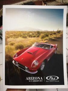 Catalogo ARIZONA Gennaio 2014 RM AUCTIONS aste automobili car classic auction
