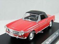 FIAT 1600 S Caddy AUTOMOBILE 1965 1 / Scala in scala 1/43 modello MENTA IMBALLATO Classic ^ ** ^