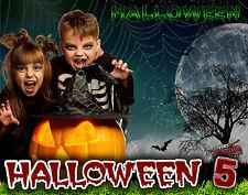 H5 Halloween Digital Backdrops Backgrounds Senior Holiday Frames Photoraphy Prop