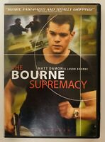 The Bourne Supremacy (DVD, 2004, Widescreen)