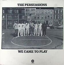 THE PERSUASIONS - WE CAME TO PLAY - CAPITOL LP