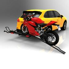 Motorcycle Carrier  Moto Tote MTX Sport Motorcycle Carrier Hitch Mount Bike Ramp