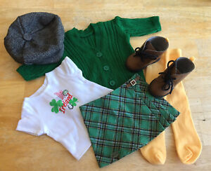 American Girl World Ttraveler in Ireland Irish outfit new without box or tags
