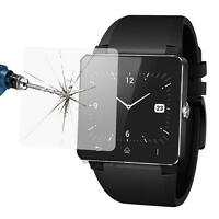 2Pcs 0.3mm Crystal Clear Screen Protector Film Guard for Sony SW2 Smart Watch