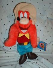 "Looney Tunes Yosemite Sam Ace 12"" Plush Soft Toy Stuffed Animal"