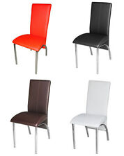 Kitchen Metal Modern Chairs with 4 Pieces
