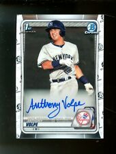 2020 Bowman Chrome Anthony Volpe RC Rookie AUTO New York Yankees