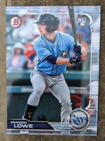 2019 Bowman Brandon Lowe RC ROOKIE CARD Tampa Bay Rays #98
