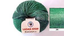 100g KAIPPO LANAS STOP Wolle Schurwolle Strickwolle Farbverlauf 230 Winterwolle