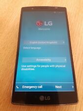 LG H815 mobile cell phone - on 3 network - has been re-set - good used condition