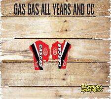 Gas gas ec 125 250 300 450 Pegatinas de gráficos forkguards inferior calcomanías gas gas