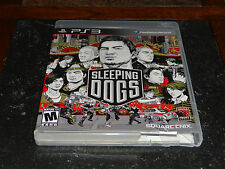 Sleeping Dogs (Sony PlayStation 3, 2012)  Never Played  -  Like New