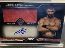 Topps UFC Andre Arlovski Auto Relic #'d 45/99 Card Chrome Museum