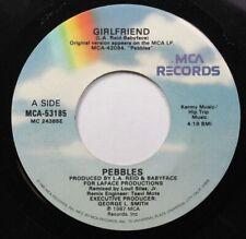 Soul 45 Girlfriend - Pebbles / Pebbles On Mca Records