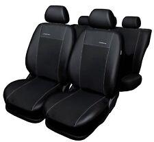 SEAT IBIZA 3 III 6L 2001-2008 Maß Sitzbezüge Kunstleder schwarz