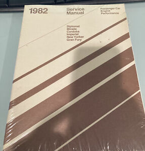 1982 Chrysler Service Manual, Chassis Body, Electrical - 2 manual set - sealed
