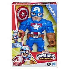 Playskool Heroes Marvel Super Hero Adventures Mega Mighties Captain America