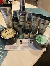 WEN Chaz Dean Healthy Hair Care Set Sweet Almond Mint Cleansing Lot Of 11