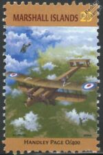 WWI HANDLEY PAGE O/400 (Type O H.P.12) Bomber Aircraft Stamp (Marshall Islands)