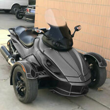 GS Calsci Tinted Shorty Windshield for Can Am BRP Spyder RS RS-S