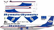 Skymaster Cargo Boeing 707-300F decals for Minicraft 1/144 kit