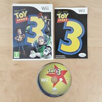 TOY STORY 3 NINTENDO WII & WII U PAL COMPLETE WITH MANUAL FREE P&P