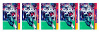 (5) 1993 Ballstreet Emmitt Smith Version 2 Football Card Lot Dallas Cowboys