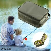 230g Outdoor Fishing Reel Storage Bag Fly Tackle Gear Lure Storage Bag Portable