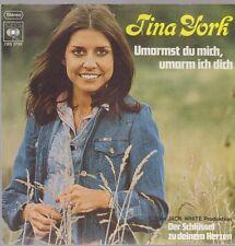 """7"""" Tina York umarmst Du mich, umarm ich Dich / Der Schlüssel zu Deinem"""