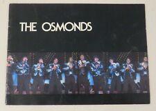 1976 The Osmonds - Concert Tour Program - Donny Osmond