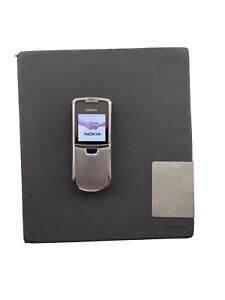 Nokia Classic 8800 - Silver (Unlocked) Mobile Phone