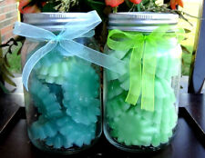 2 Mason Jars Candle Wax Melts Tarts Strongly Scented Yankee Types