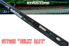 ** Nories ROAD RUNNER STRUCTURE ST720H BULKY BAIT Casting Rod