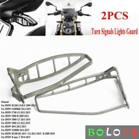Turn Signal Light Protector Cover Indicator Guard For BMW R1200 GS/R/S 2009-2014