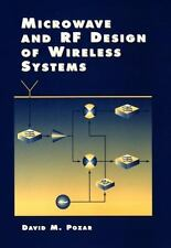 Microwave and RF Design of Wireless Systems by David M. Pozar (2000, Hardcover)