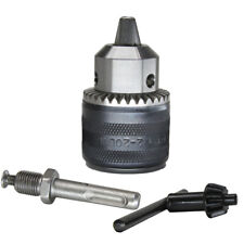 """1.5-13mm Rotary Hammer Keyed Drill Chuck 1/2"""" 20UNF with Key and SDS Plus Shank"""
