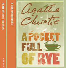 A Pocket Full of Rye: Complete & Unabridged, Christie, Agatha, New Book