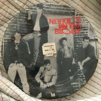 Vintage NEW KIDS ON THE BLOCK Paper Party Plates DEAD STOCK NOSWT Set Of 8 NOS