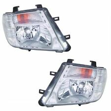 To Fit Nissan Pathfinder R51 3/2010-2014 Headlights Headlamps 1 Pair O/S & N/S