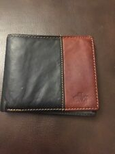 ROWALLAN BROWN LEATHER WALLET