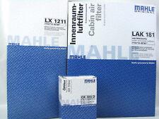 Mahle Luftfilter LX1211 Ölfilter OX388D Innenraumfilter LAK181 VW Inspektionskit