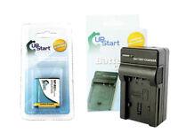 Battery & Charger For Sony NP-BG1 NPBG1 BC-CSG NP-FG1