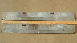 1965 1966 1967 1968 Ford Mercury front door open wiring scuff sill plate shield