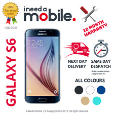 Samsung Galaxy S6 -32GB - 64GB - Unlocked - All Networks - Various Colours